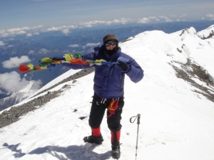 Summit on Mt. Rainier