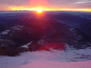 Sunrise from Mt. Rainier