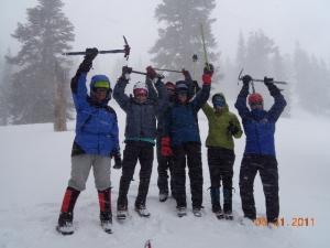 Mt. Shasta climbers