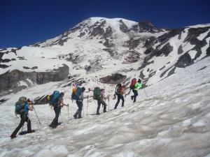 Climb to Fight Breast Cancer ascends Mt. Rainier.