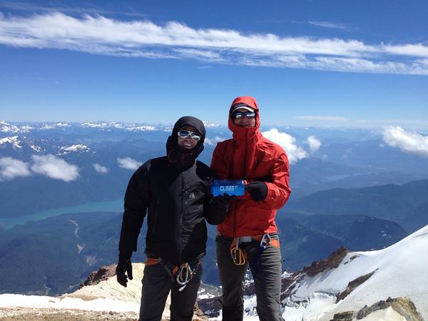 Team Lydig summits Mt. Baker, July 2013