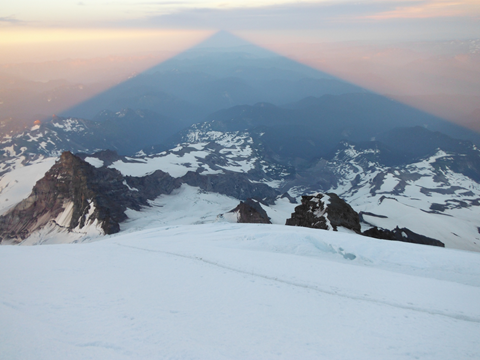 Mt. Rainier. Photo by Steve Waltar.