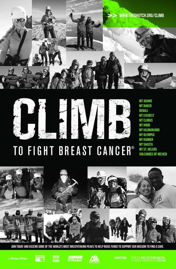 Climb a Mountain. Save a Life