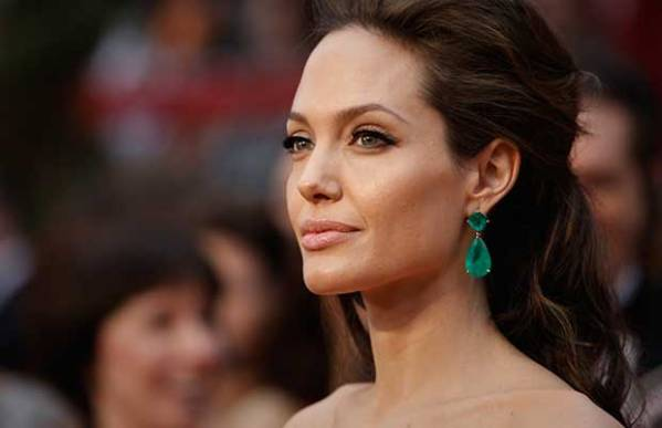 Angelina Jolie Pitt announced Tuesday that she's had her ovaries and Fallopian tubes removed to combat her risk of cancer. File photo by Matt Sayles / AP